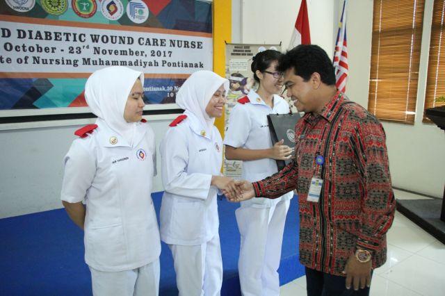 PELATIHAN CDWCN PESERTA DARI UNIMAS (MALAYSIA)