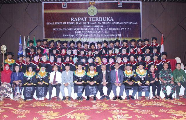 WISUDA SARJANA 2018 STIK Muhammadiyah Pontianak
