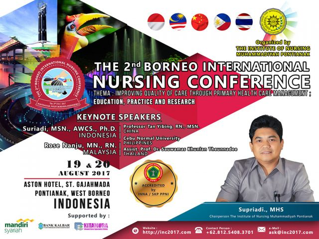 The 2nd Borneo International Nursing Conference (INC2017)